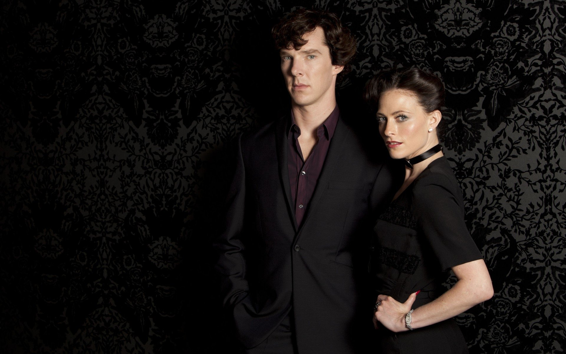 Benedict Cumberbatch Wallpaper Hd: Benedict Cumberbatch & Lara Pulver HD Wallpaper