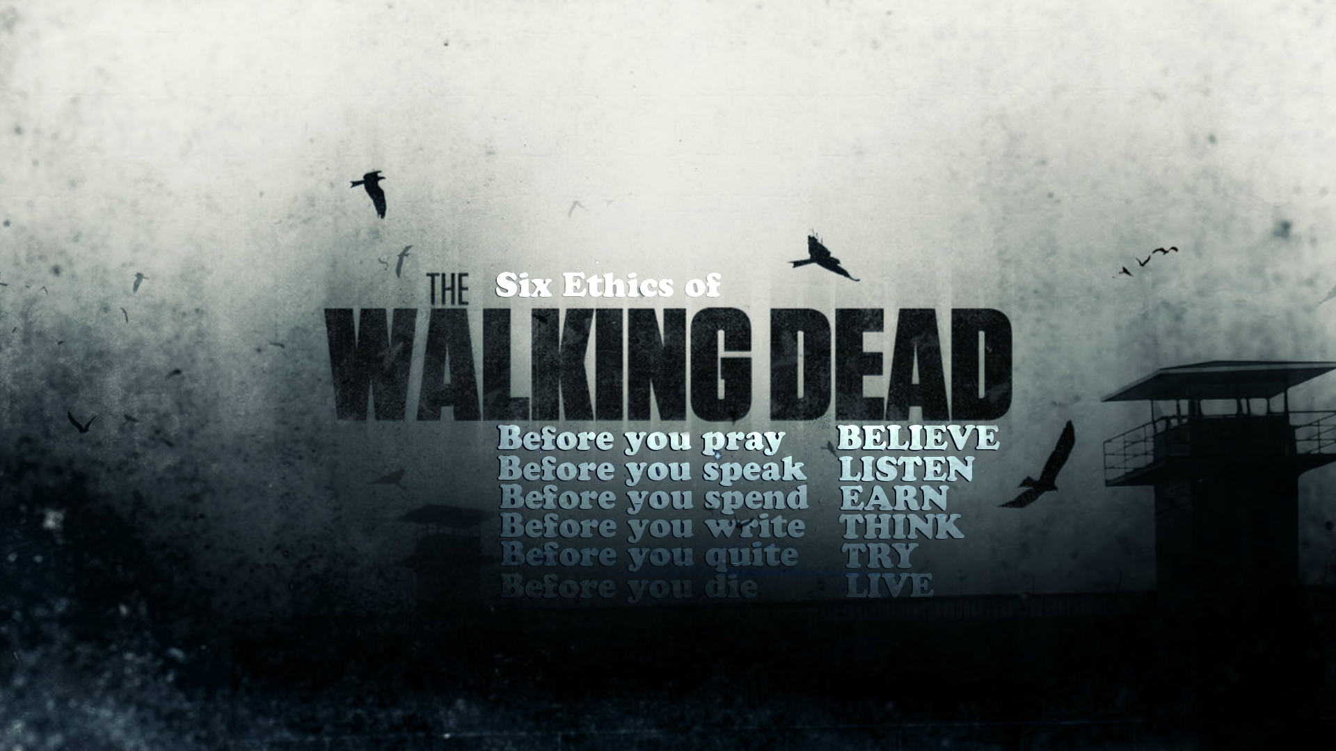 The Walking Dead Wallpapers: The Six Full HD Wallpaper And Background Image