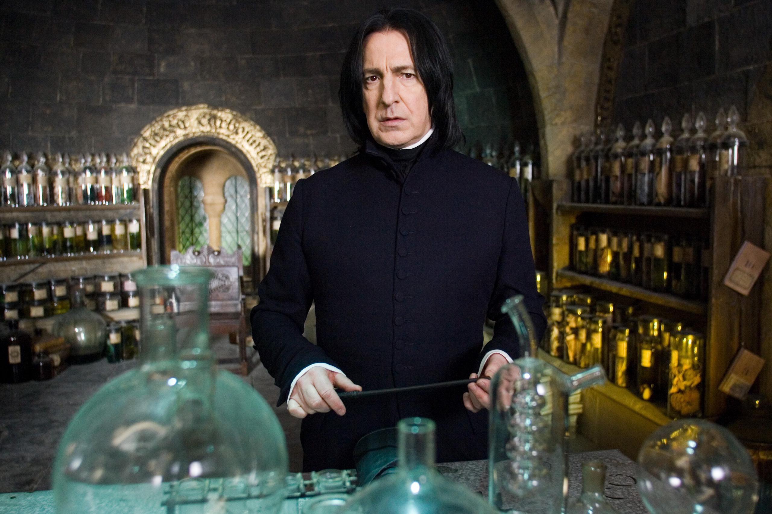 Professor Severus Snape Fondo De Pantalla Hd Fondo De