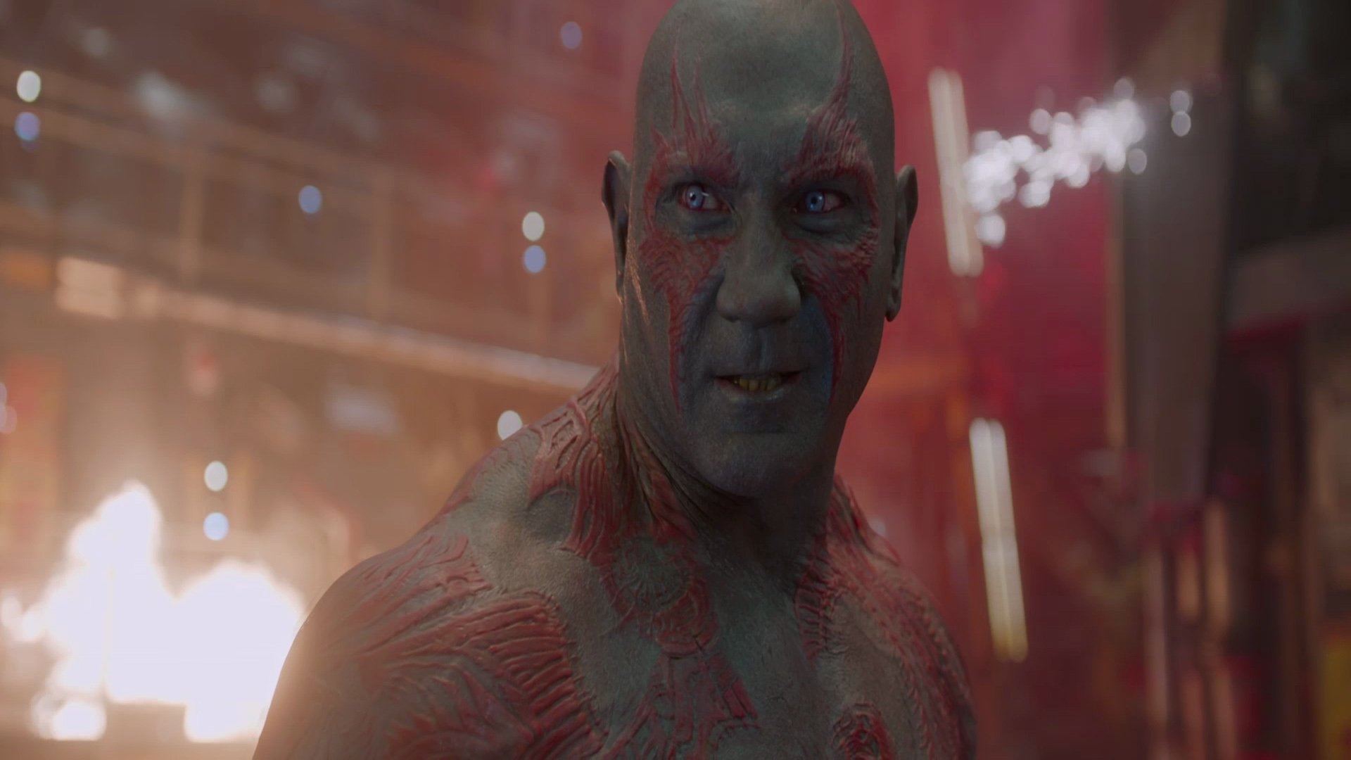 Movie - Guardians of the Galaxy  Dave Bautista Drax The Destroyer Movie Sci Fi Wallpaper