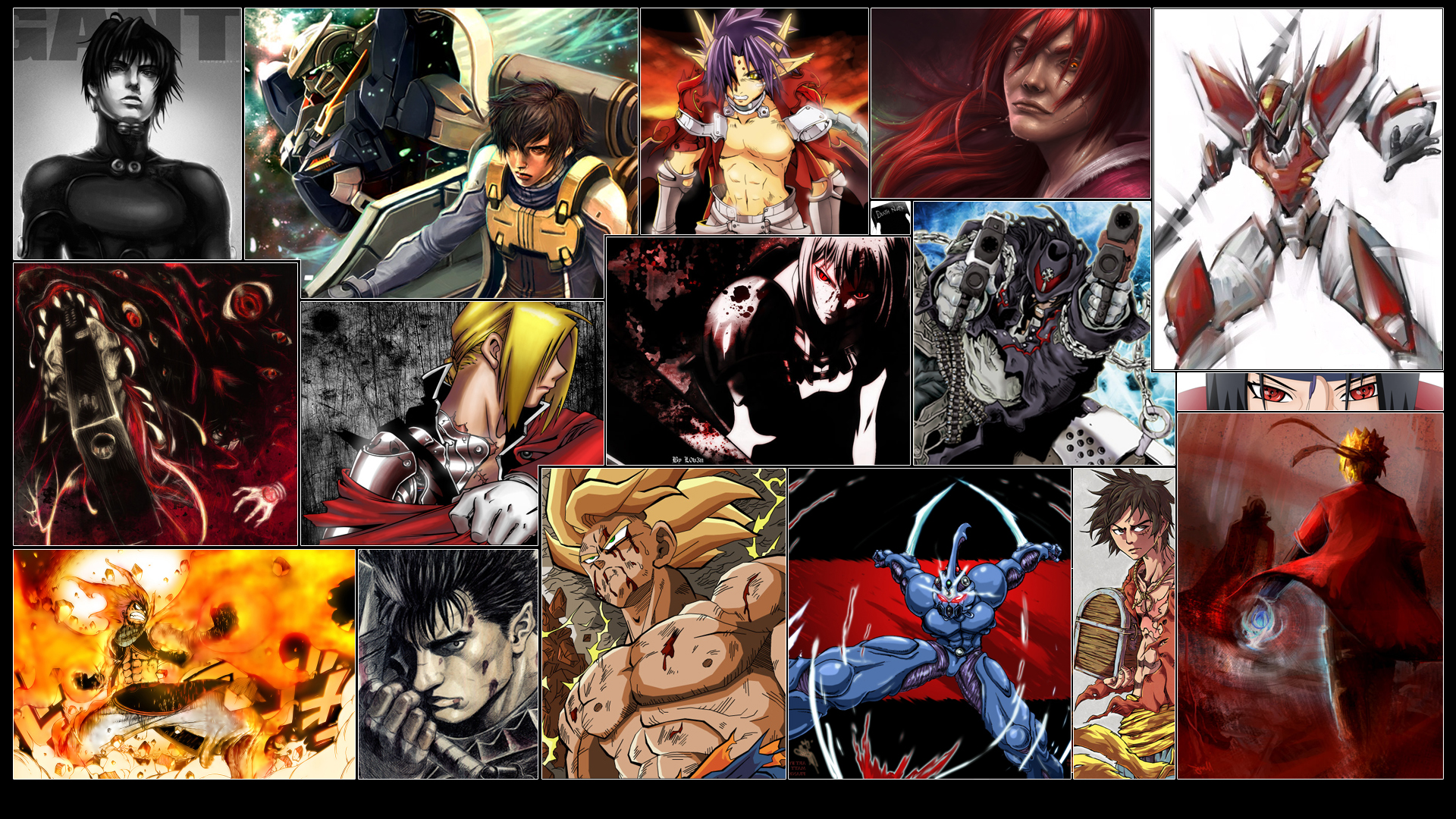 Anime Heroes Full HD Wallpaper and Background Image ...