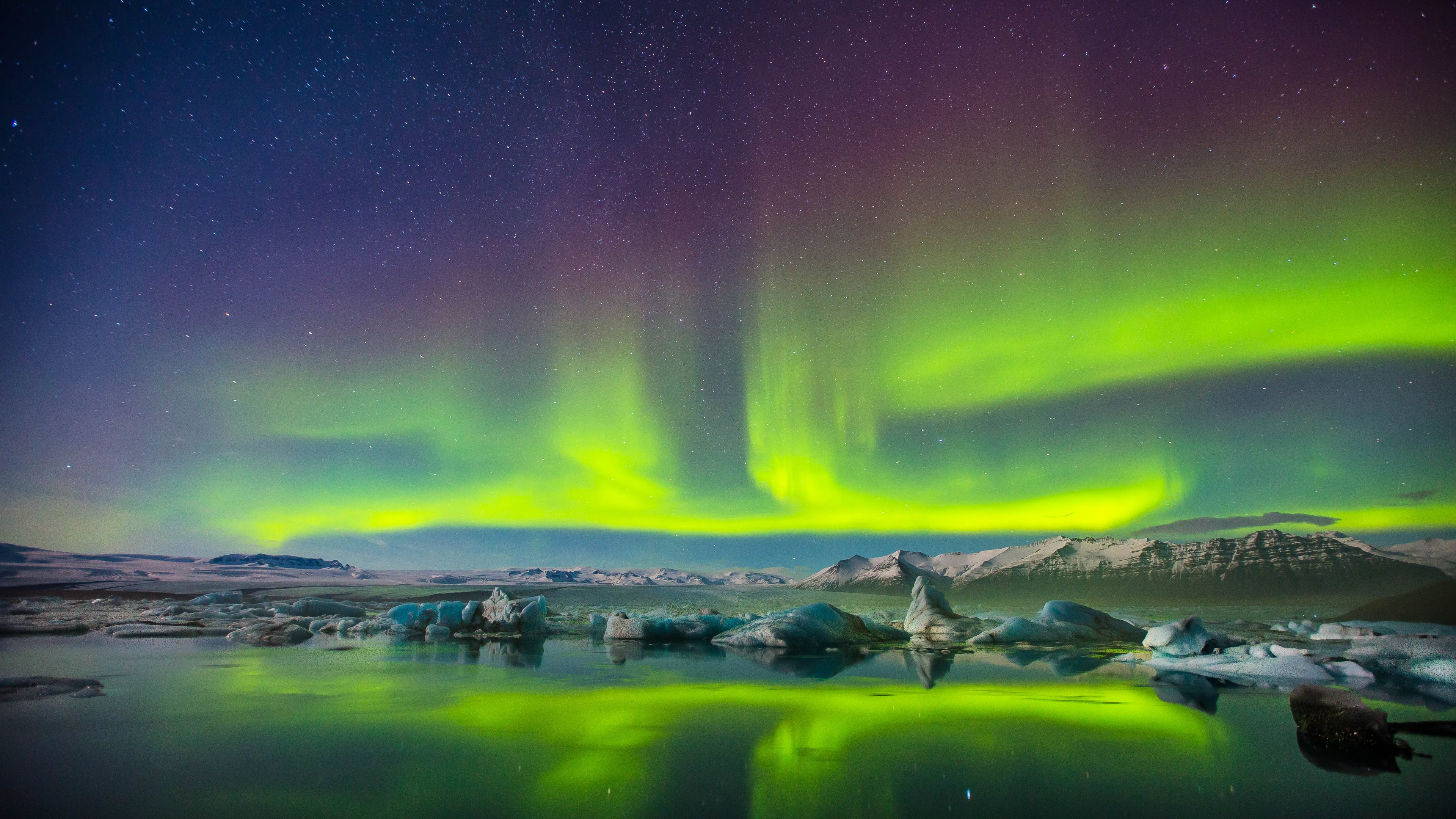 401 Aurora Borealis HD Wallpapers