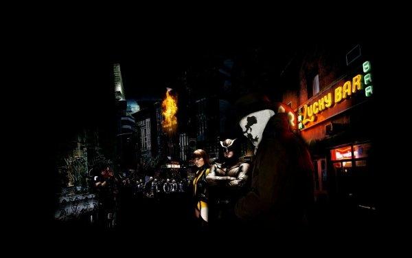 Movie Watchmen Rorschach Nite Owl Silk Spectre HD Wallpaper | Background Image