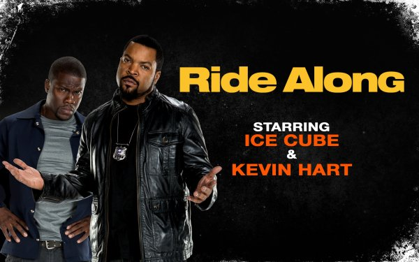 Movie Ride Along Cop Kevin Hart Ice Cube Police HD Wallpaper | Background Image