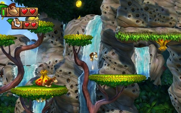 Video Game Donkey Kong Country: Tropical Freeze Donkey Kong HD Wallpaper | Background Image