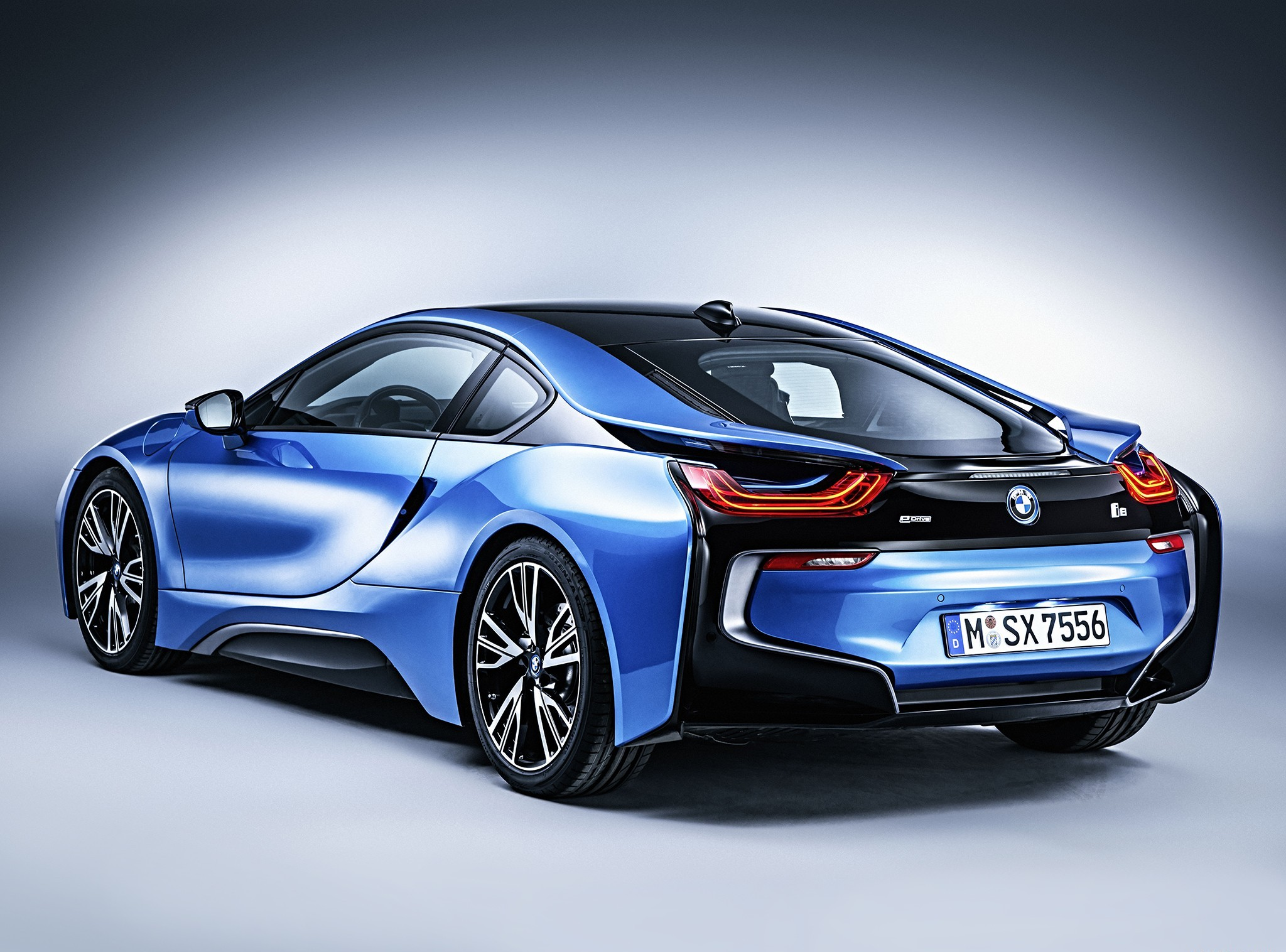 Group Of Bmw I8 Blue Hd