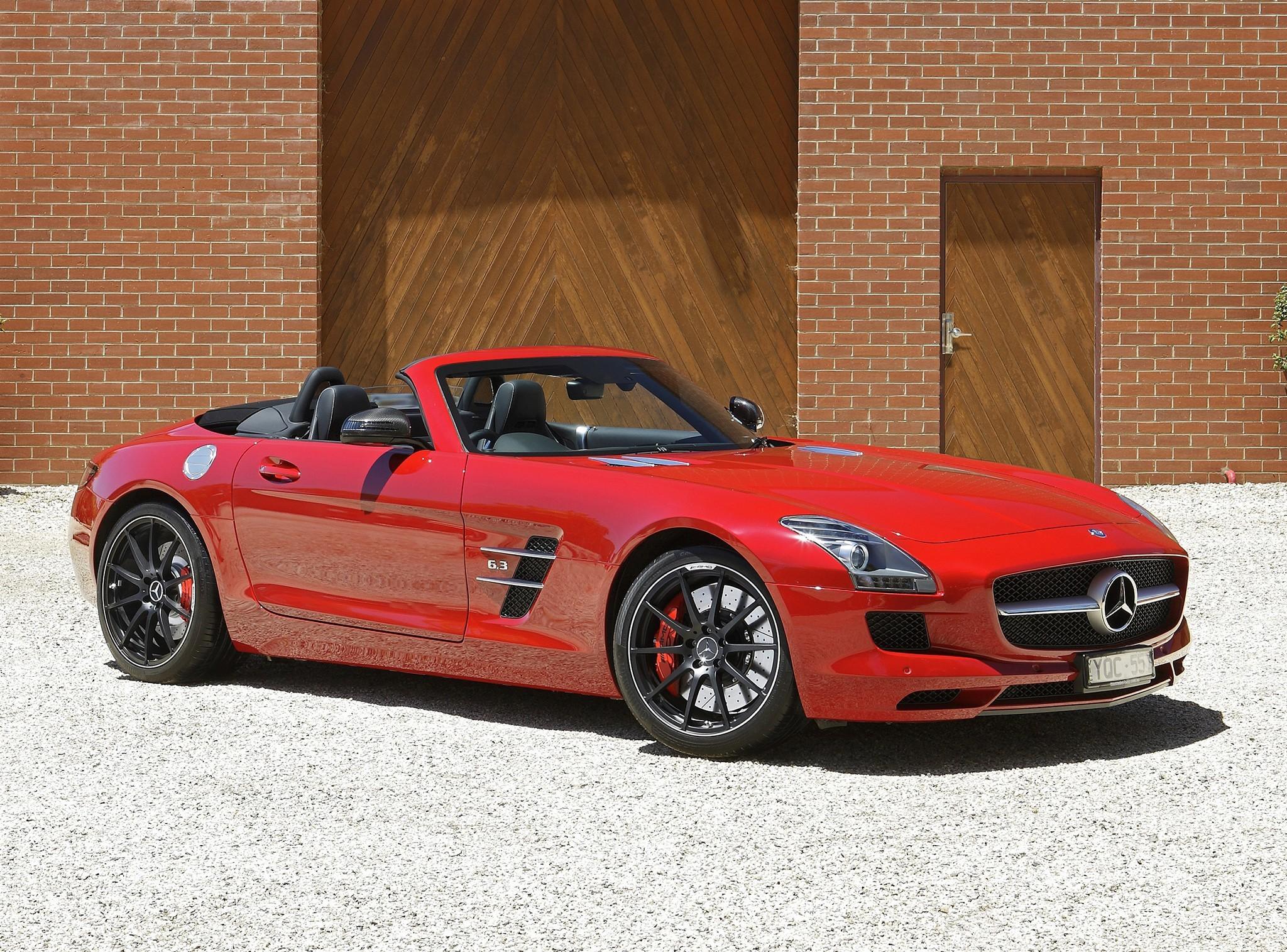 Mercedes benz sls amg full hd wallpaper and background for Mercedes benz sls amg red