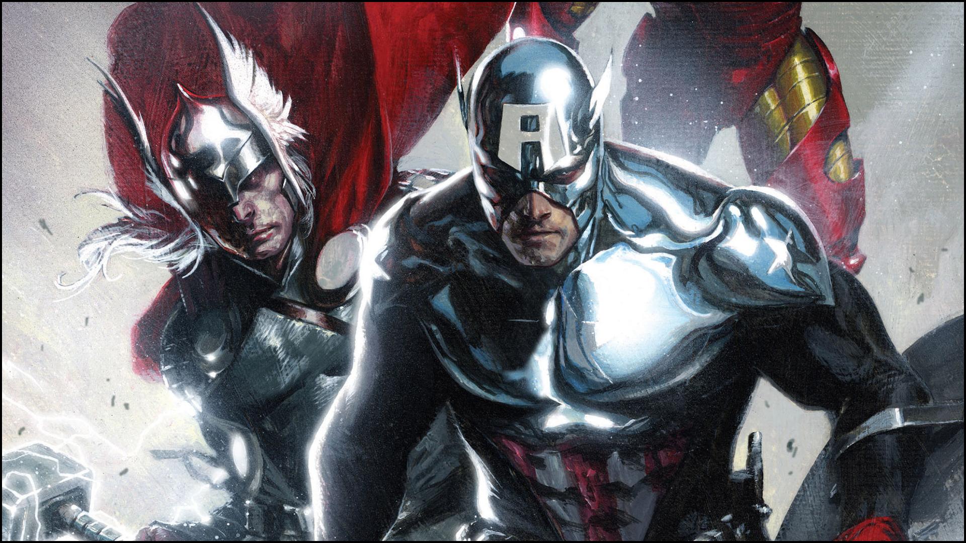 Papel De Parede Do Capitao America: Thor And Iron Man Papel De Parede HD