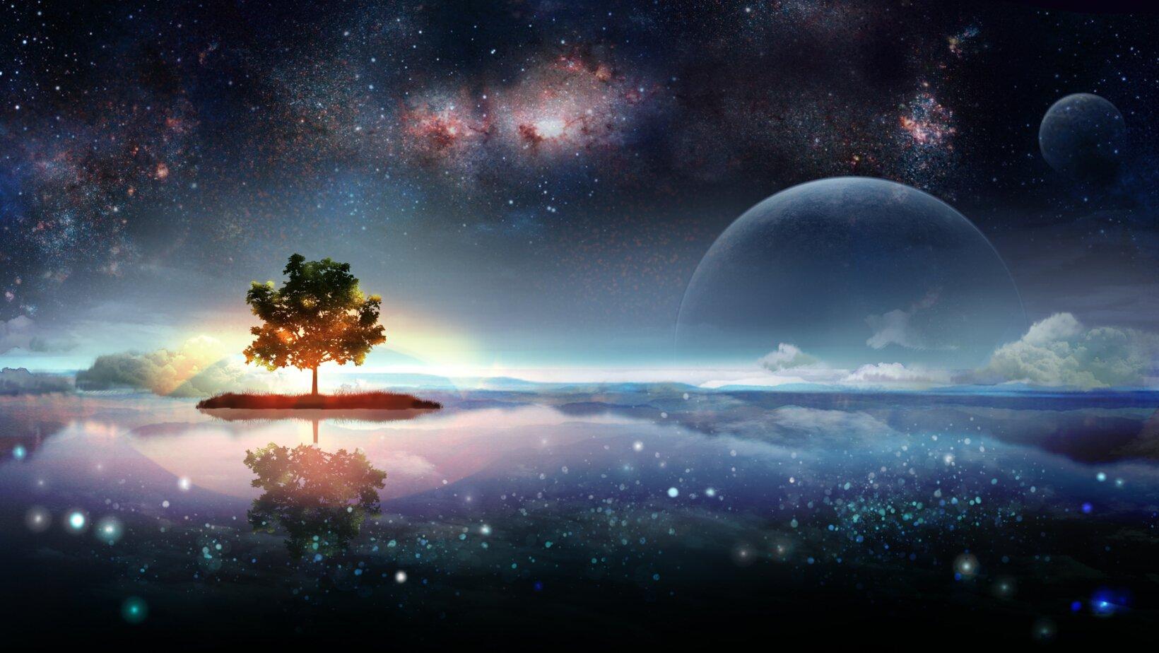 Sci Fi - Planetscape  Wallpaper