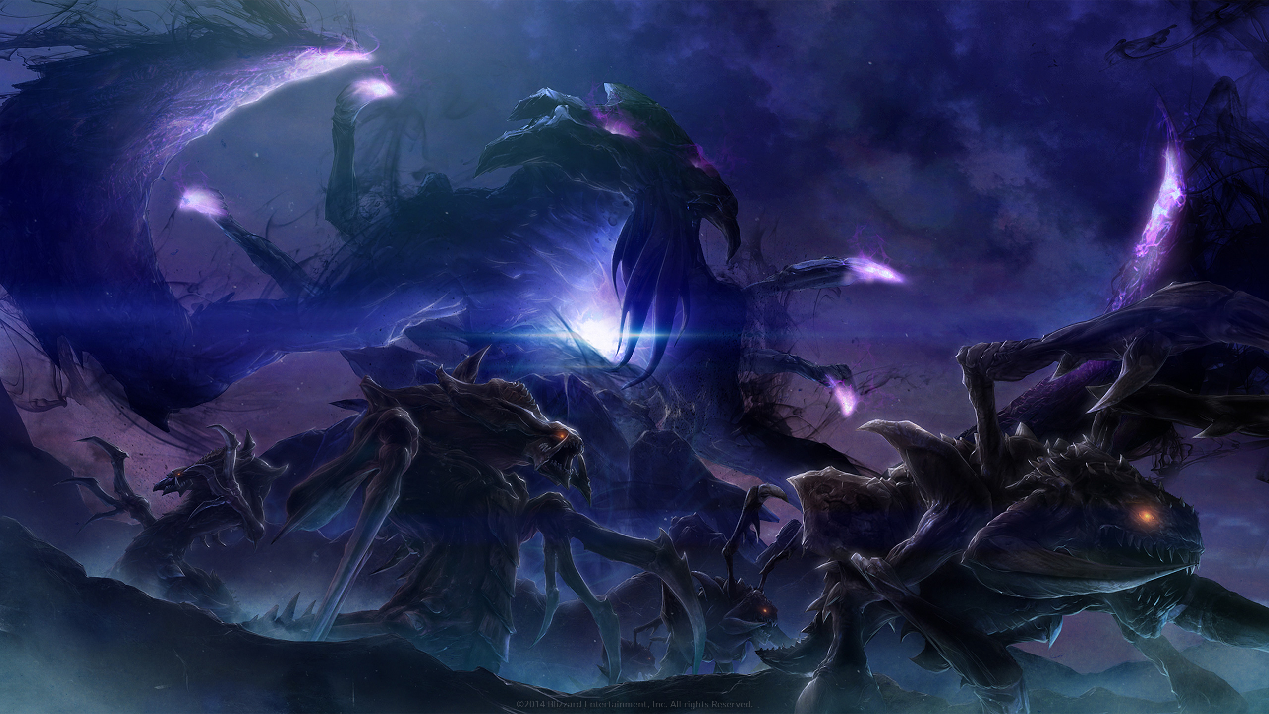 Starcraft Heart Of The Swarm HD Wallpaper Background Image