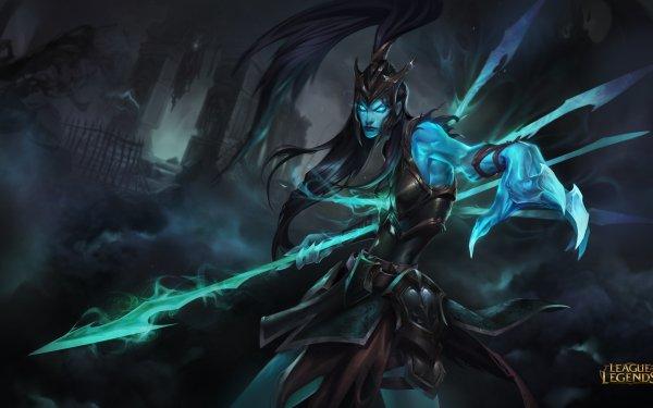 Jeux Vidéo League Of Legends Kalista Spear Fantôme Sombre Armor Fond d'écran HD | Image