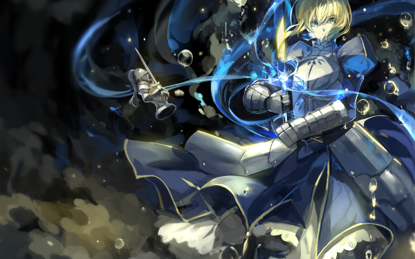 Anime Fate/Stay Night Fate Series Saber Sword HD Wallpaper | Background Image