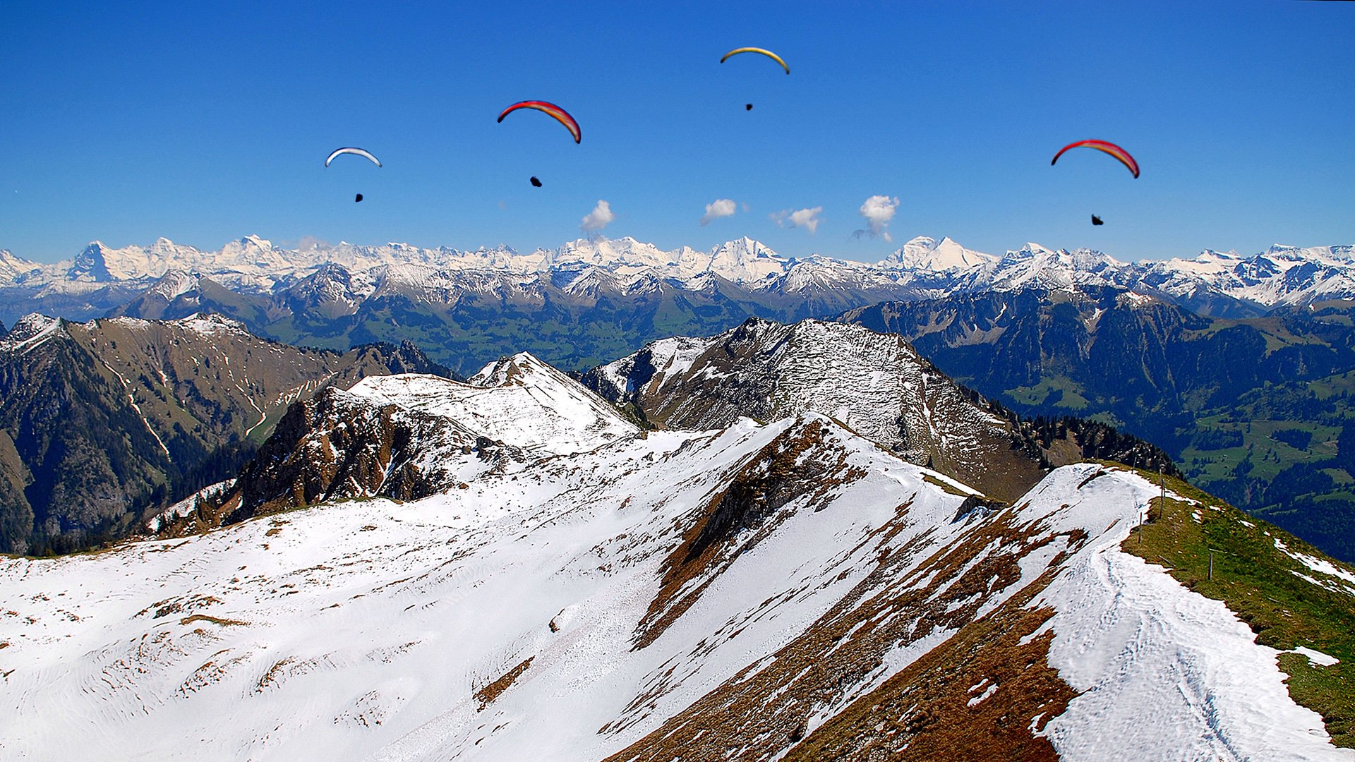 paragliding hd wallpaper | background image | 1920x1080 | id:554512