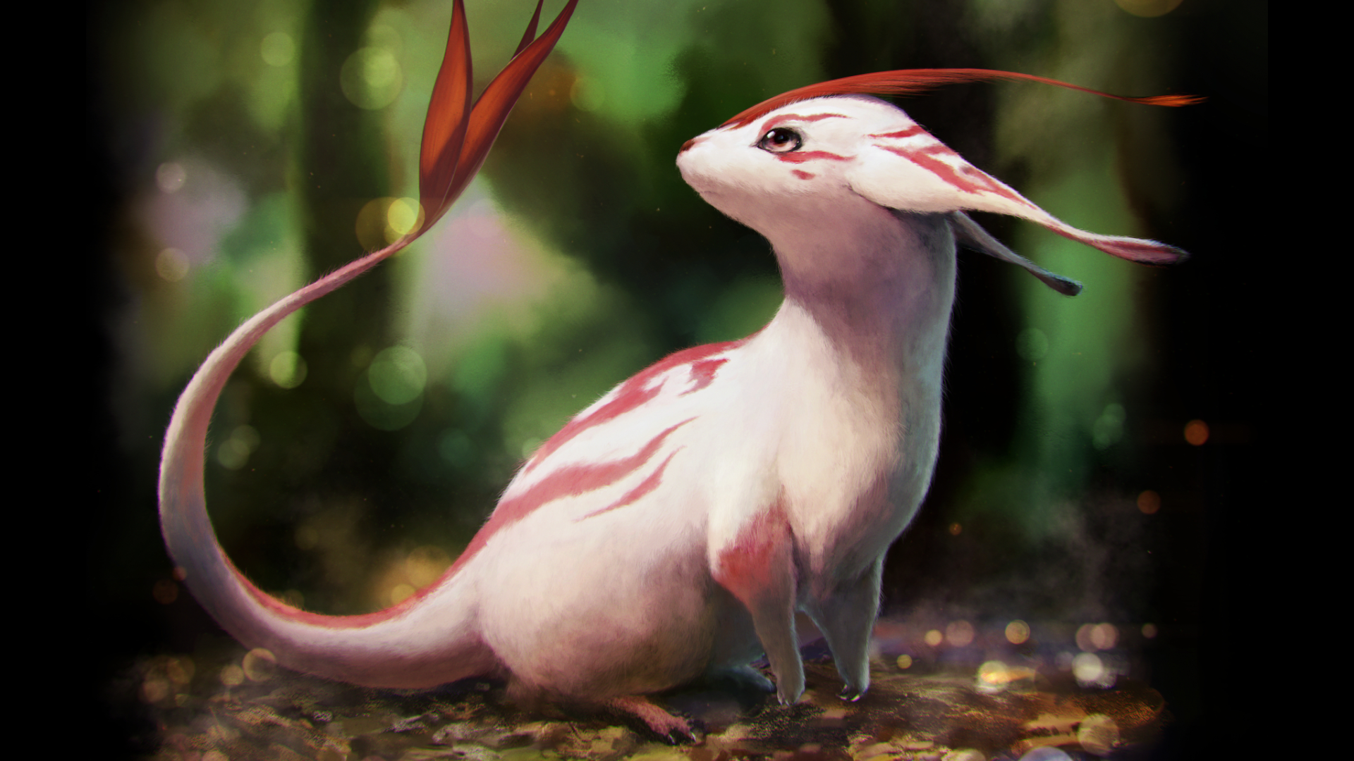 Anime - Pixiv Fantasia Fallen Kings  Animal Creature Wallpaper
