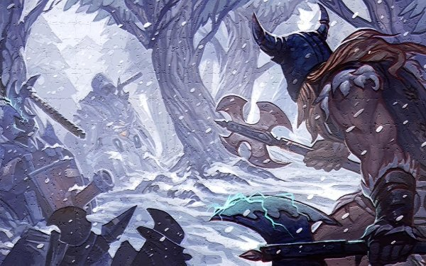 Video Game League Of Legends Olaf HD Wallpaper | Background Image