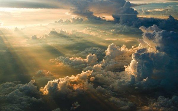 Earth Sunbeam HD Wallpaper   Background Image