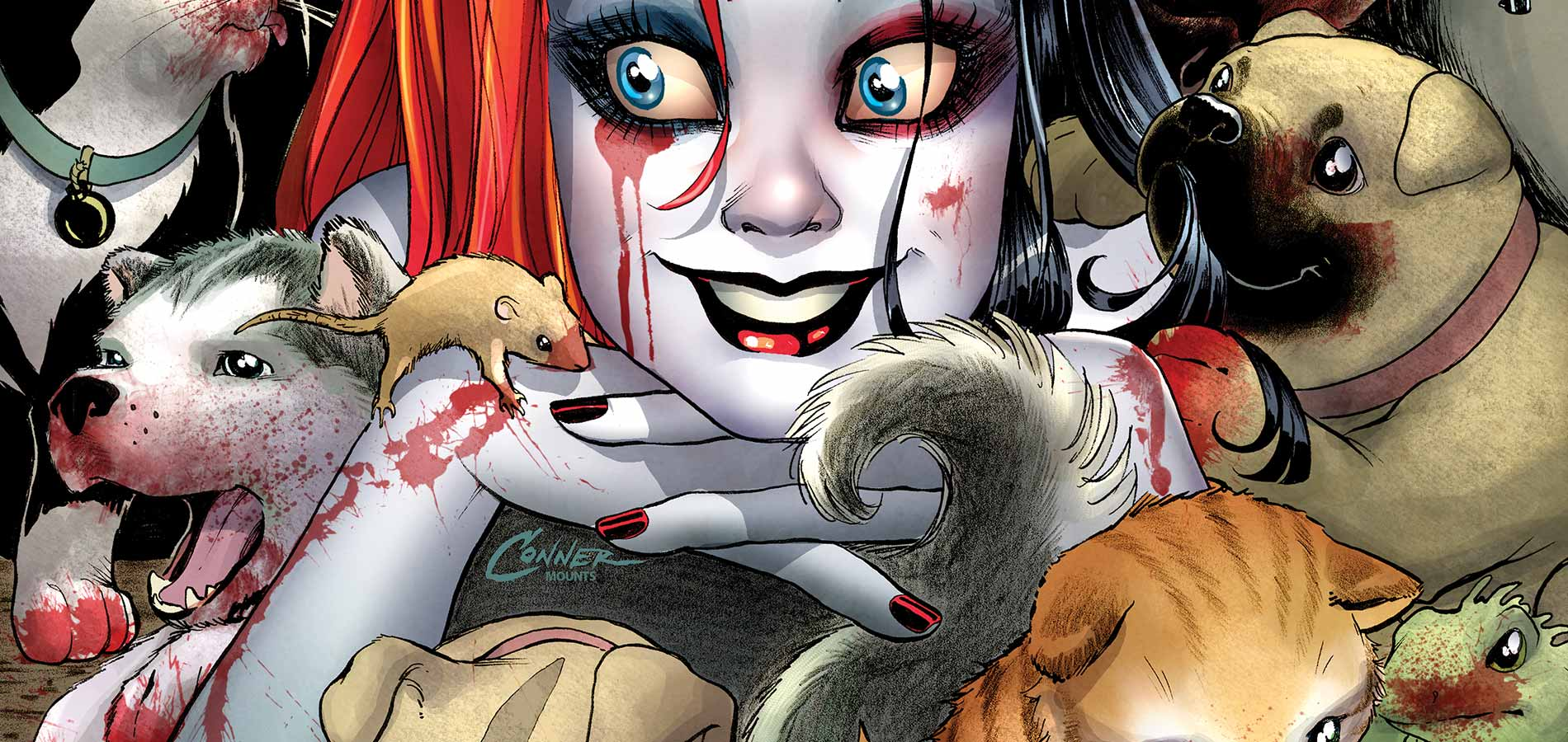 Harley Quinn Wallpaper And Background Image 1900x900 Id 562394