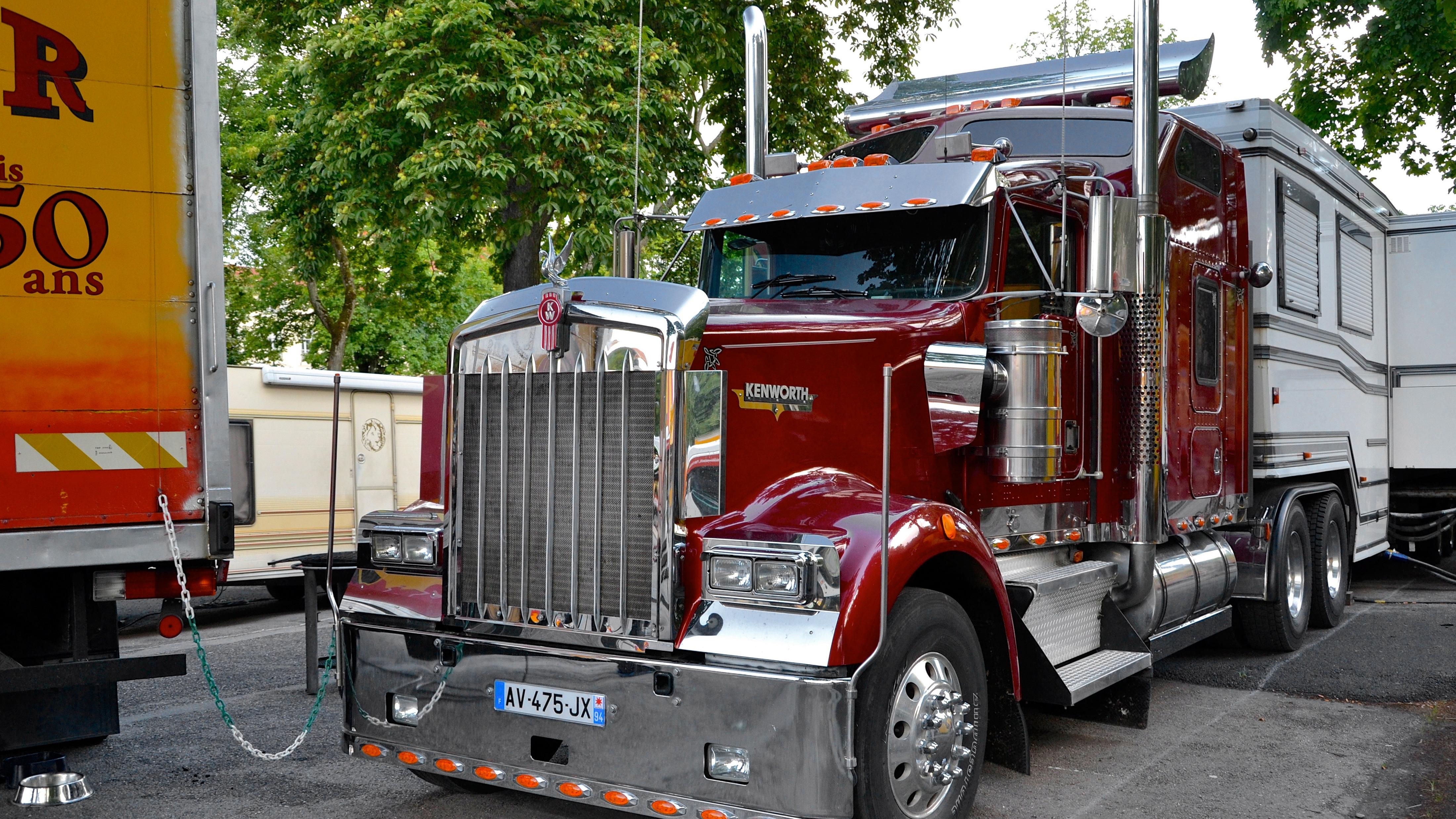 Autos Camiones Fondos De Pantalla Gratis: Kenworth 4k Ultra Fondo De Pantalla HD