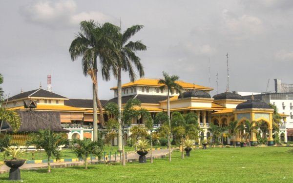 Man Made Maimun Palace Palaces Indonesia HD Wallpaper | Background Image