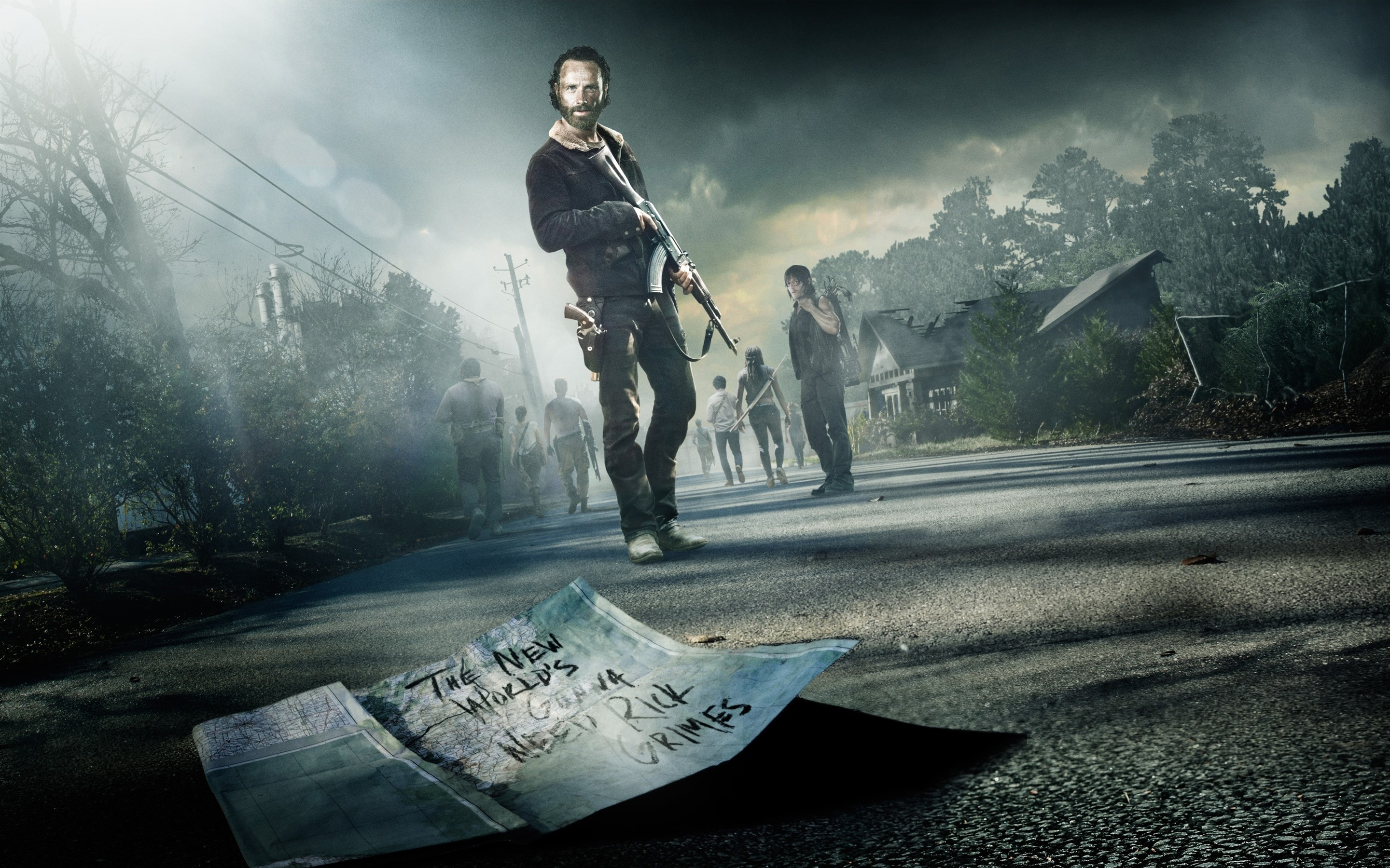 780 the walking dead hd wallpapers | background images - wallpaper abyss