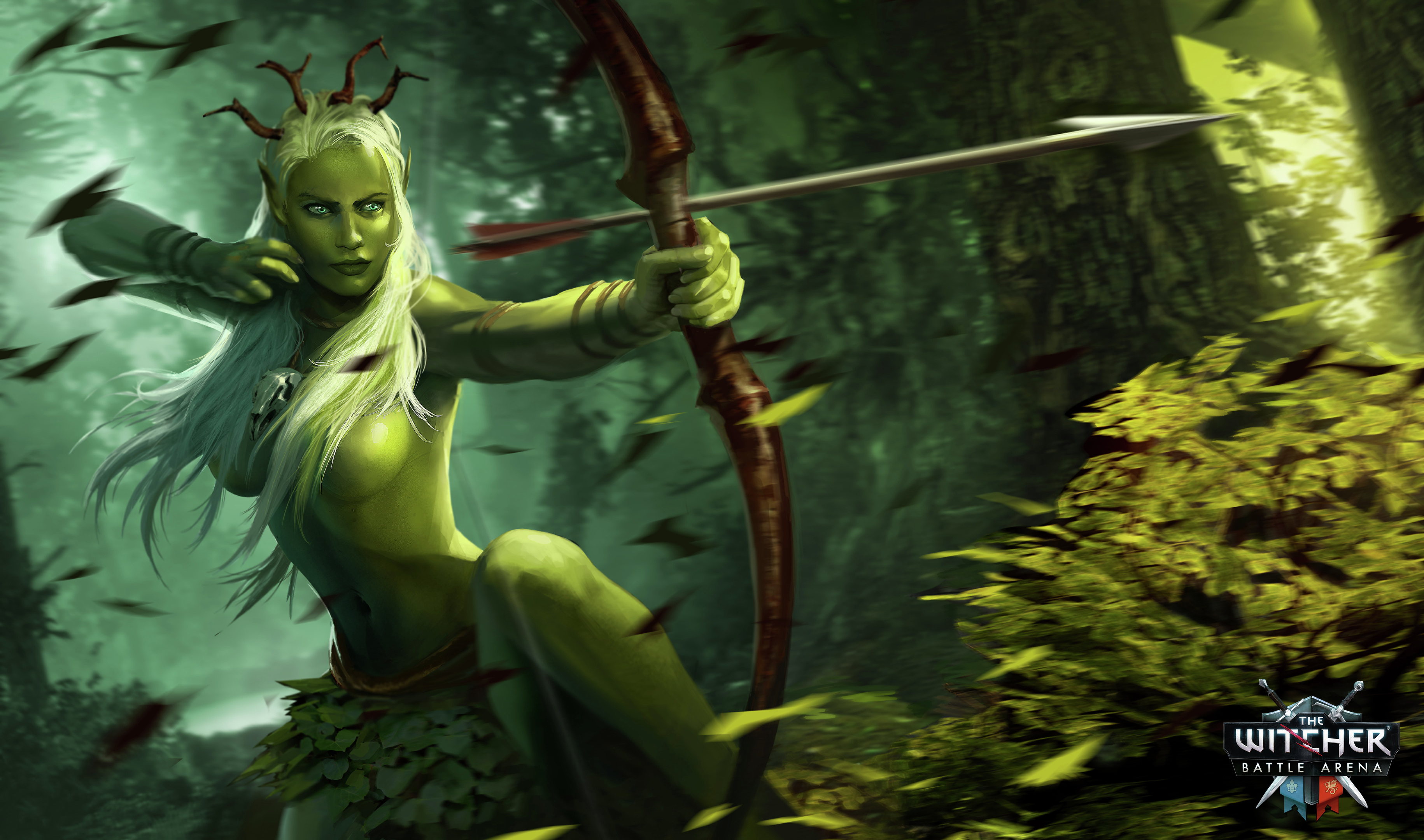 The witcher dryad nude photo