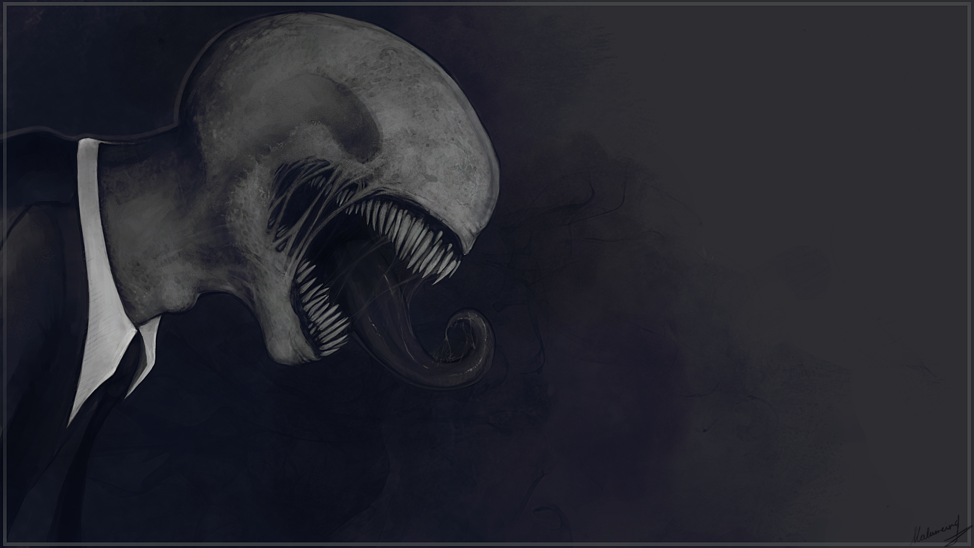 Slender The Eight Pages Full HD Wallpaper And Background Image