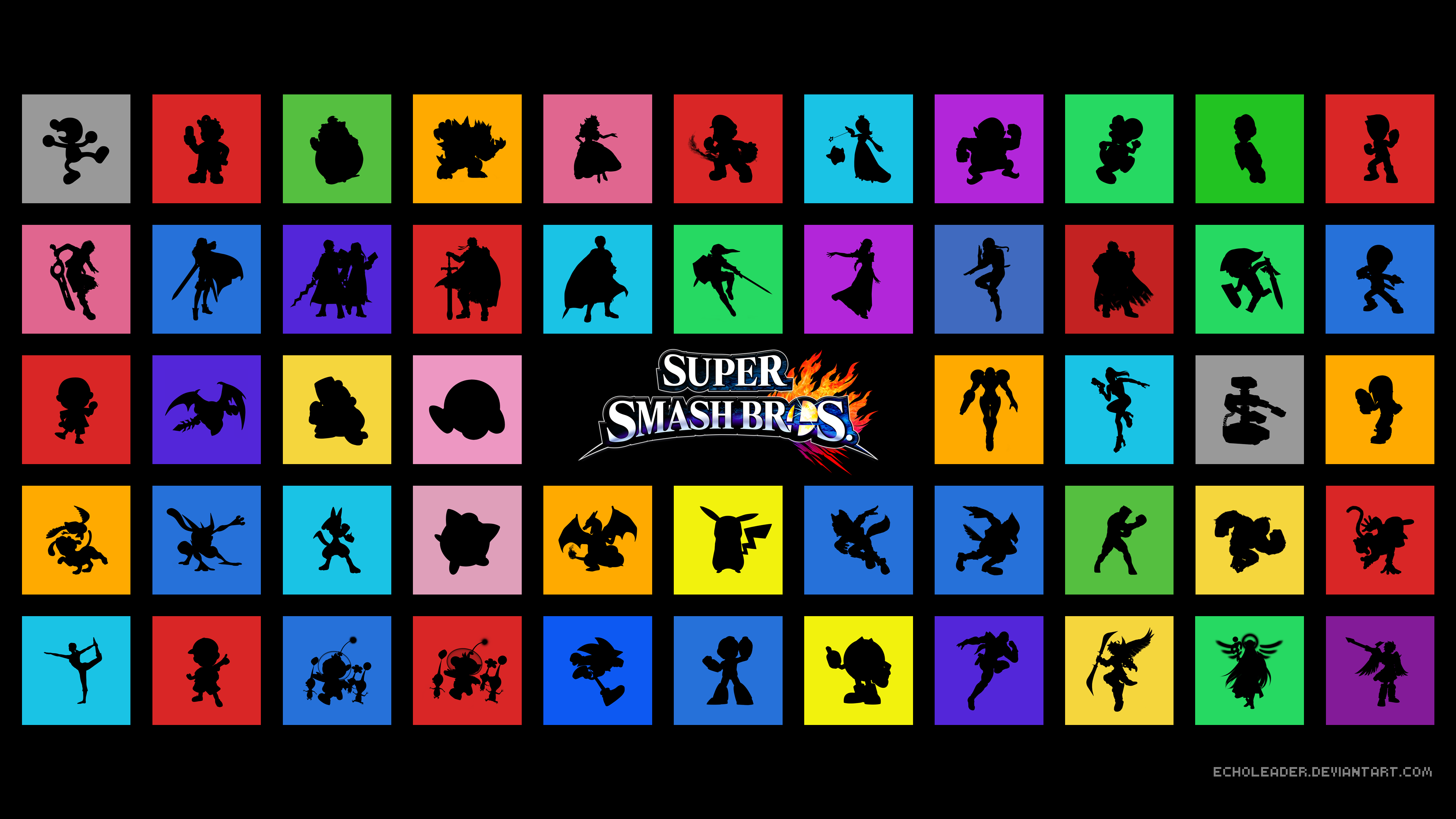 super smash bros 4k ultra hd wallpaper and background