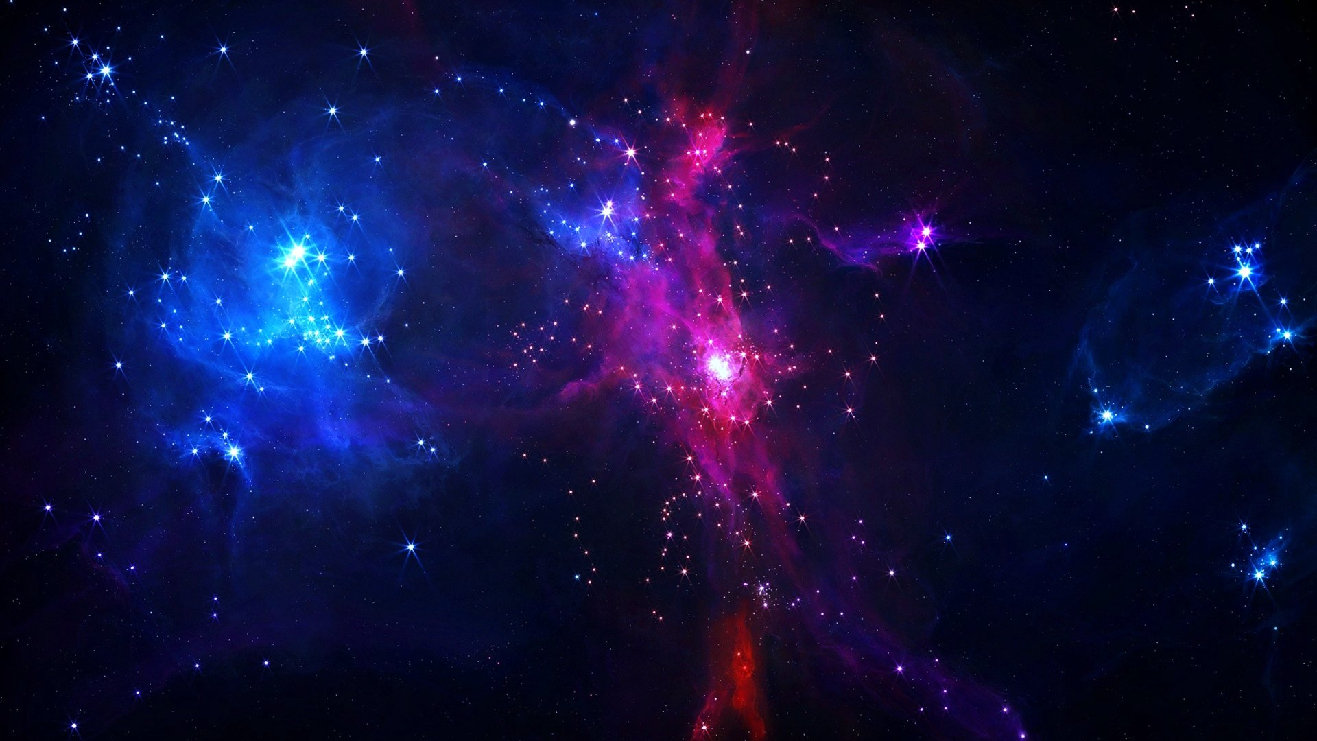 Sci Fi - Space  Colors Galaxy Stars Universe Nebula Wallpaper