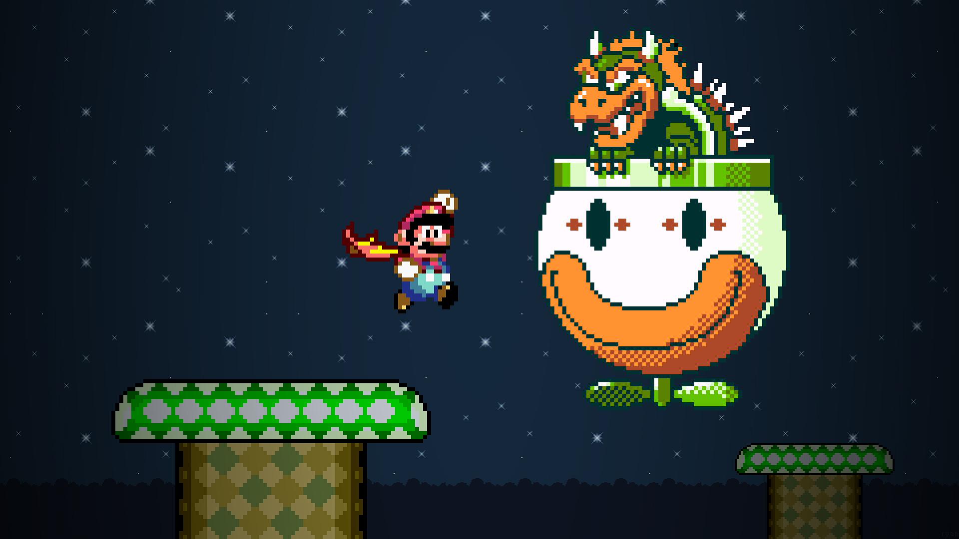 Super Mario World Fond D'écran HD