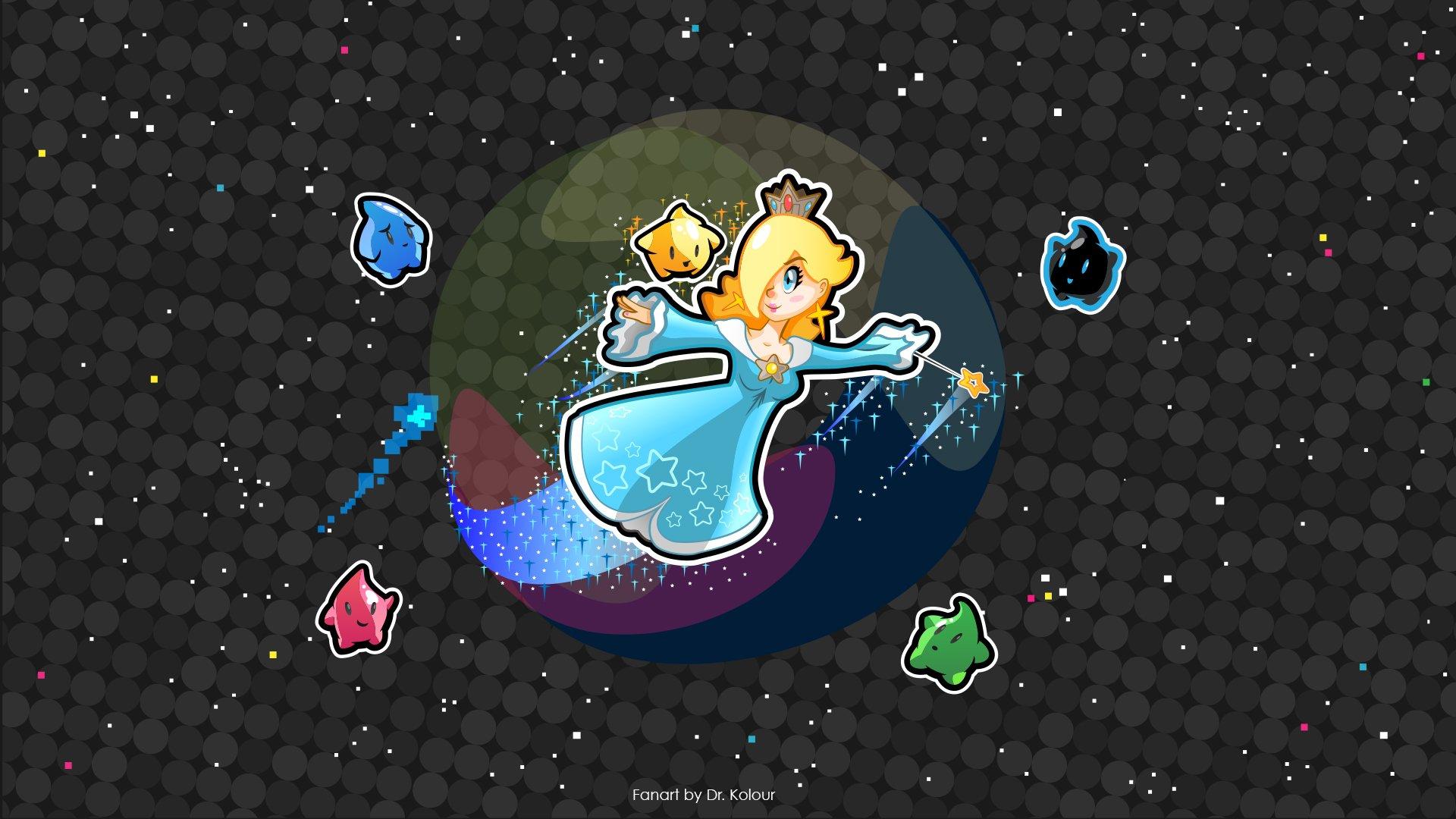 Videojuego - Super Mario Galaxy  Rosalina (Mario) Fondo de Pantalla