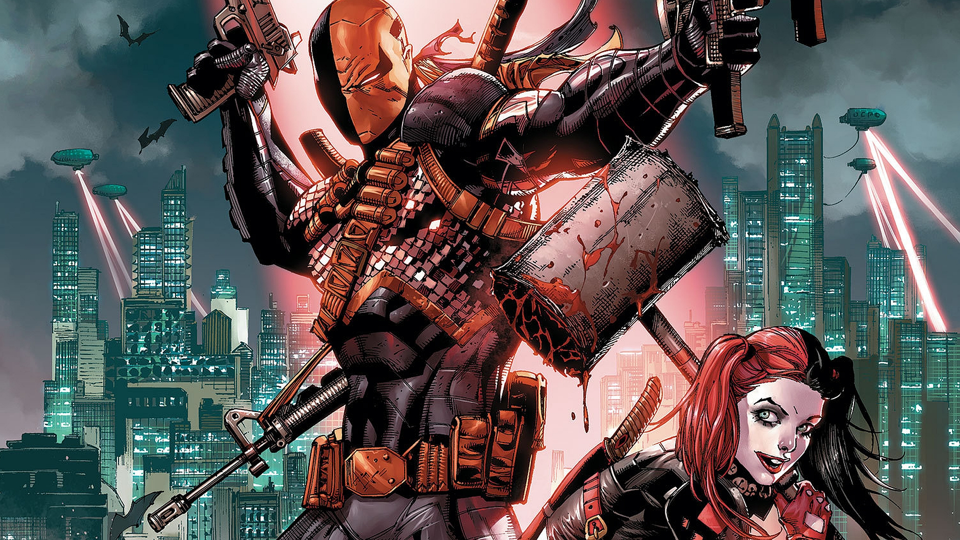 deathstroke full hd wallpaper and background 1920x1080