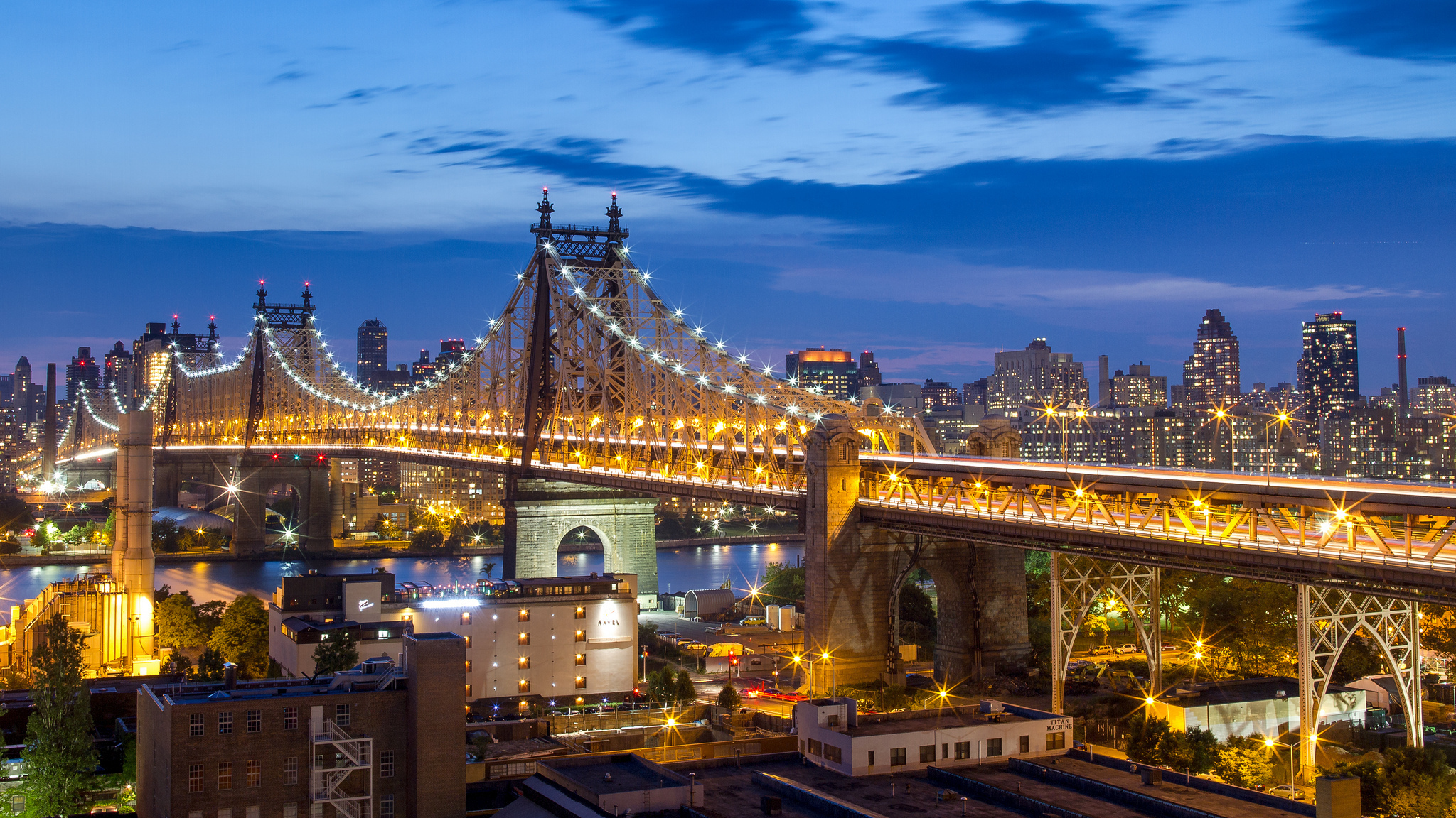 Queensboro Bridge HD Wallpaper
