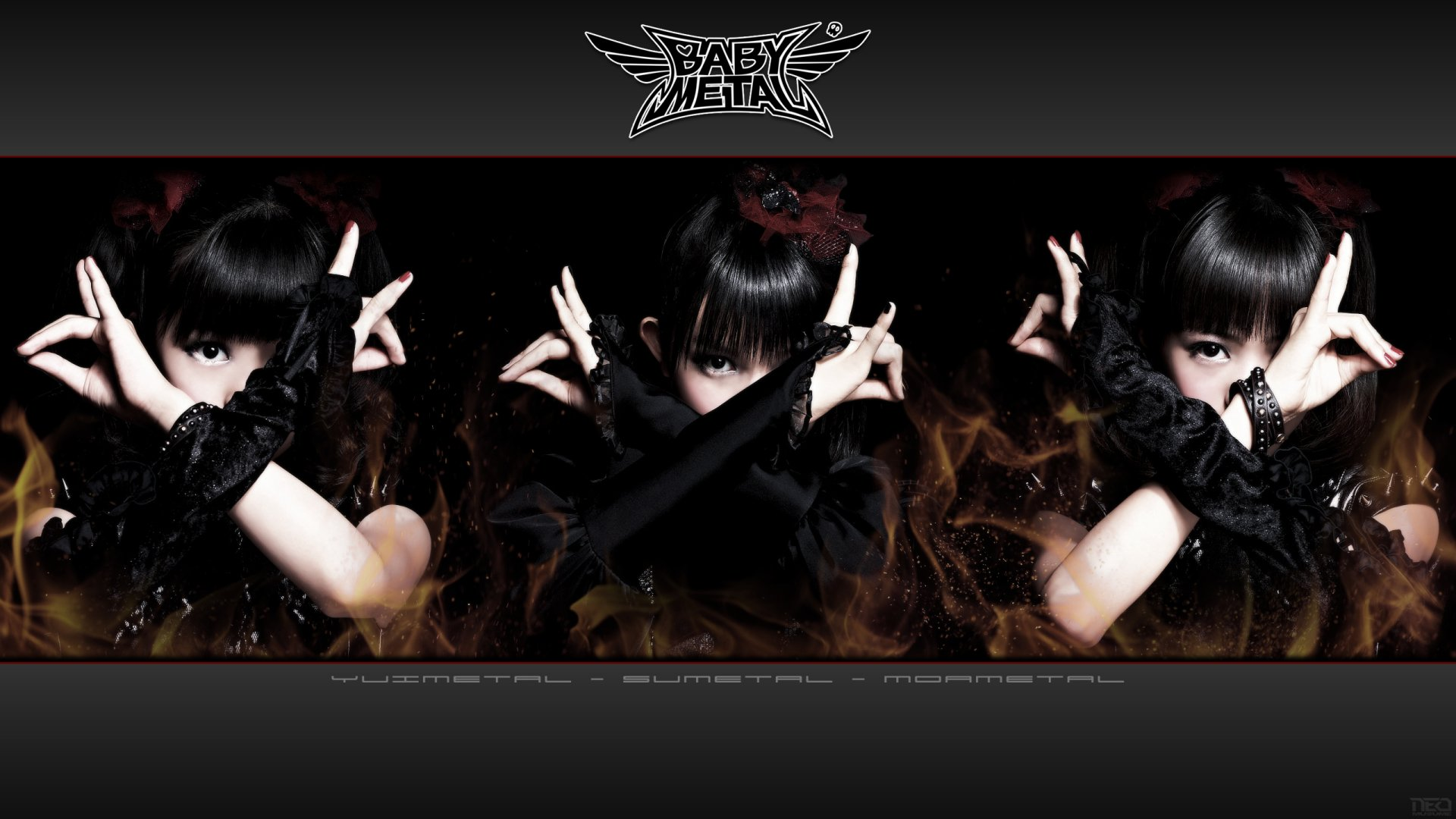 Music - Babymetal  Heavy Metal Metal Idol Japanese Asian Oriental Wallpaper