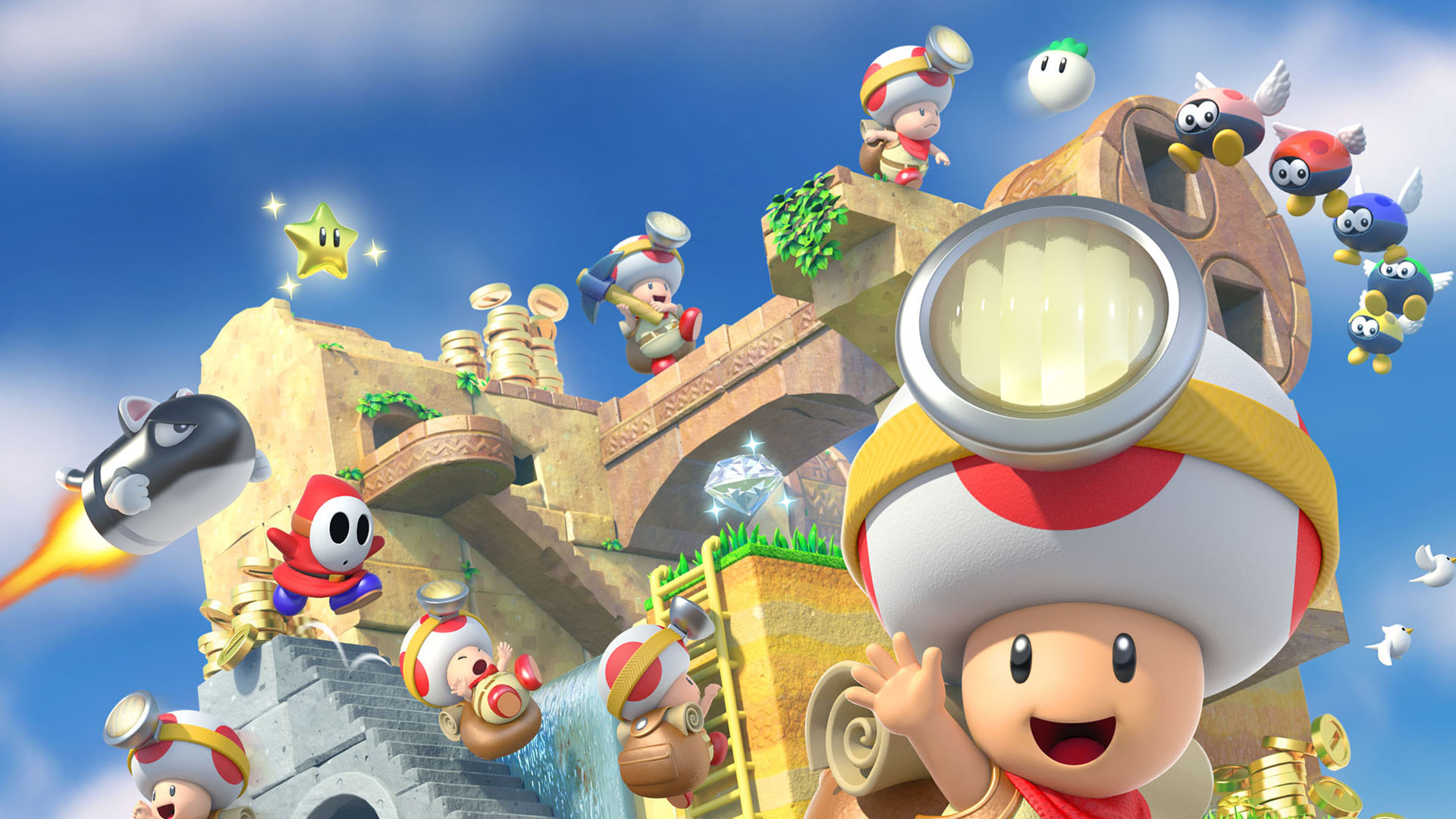 4 Captain Toad: Treasure Tracker HD Wallpapers ...