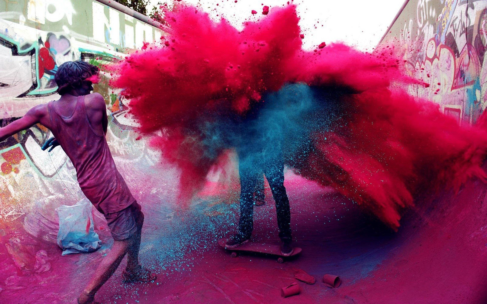 Holiday - Holi  People Colors Wallpaper
