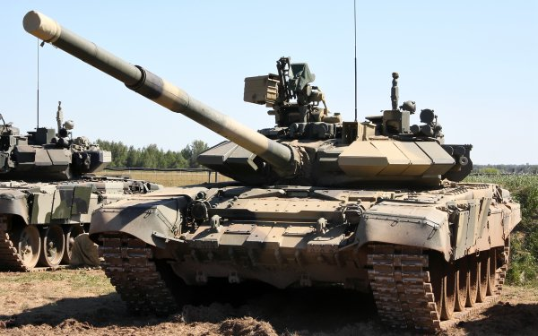 Military T-90 Tanks HD Wallpaper | Background Image