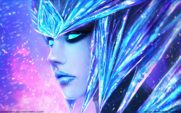 Video Game League Of Legends Shyvana HD Wallpaper   Background Image