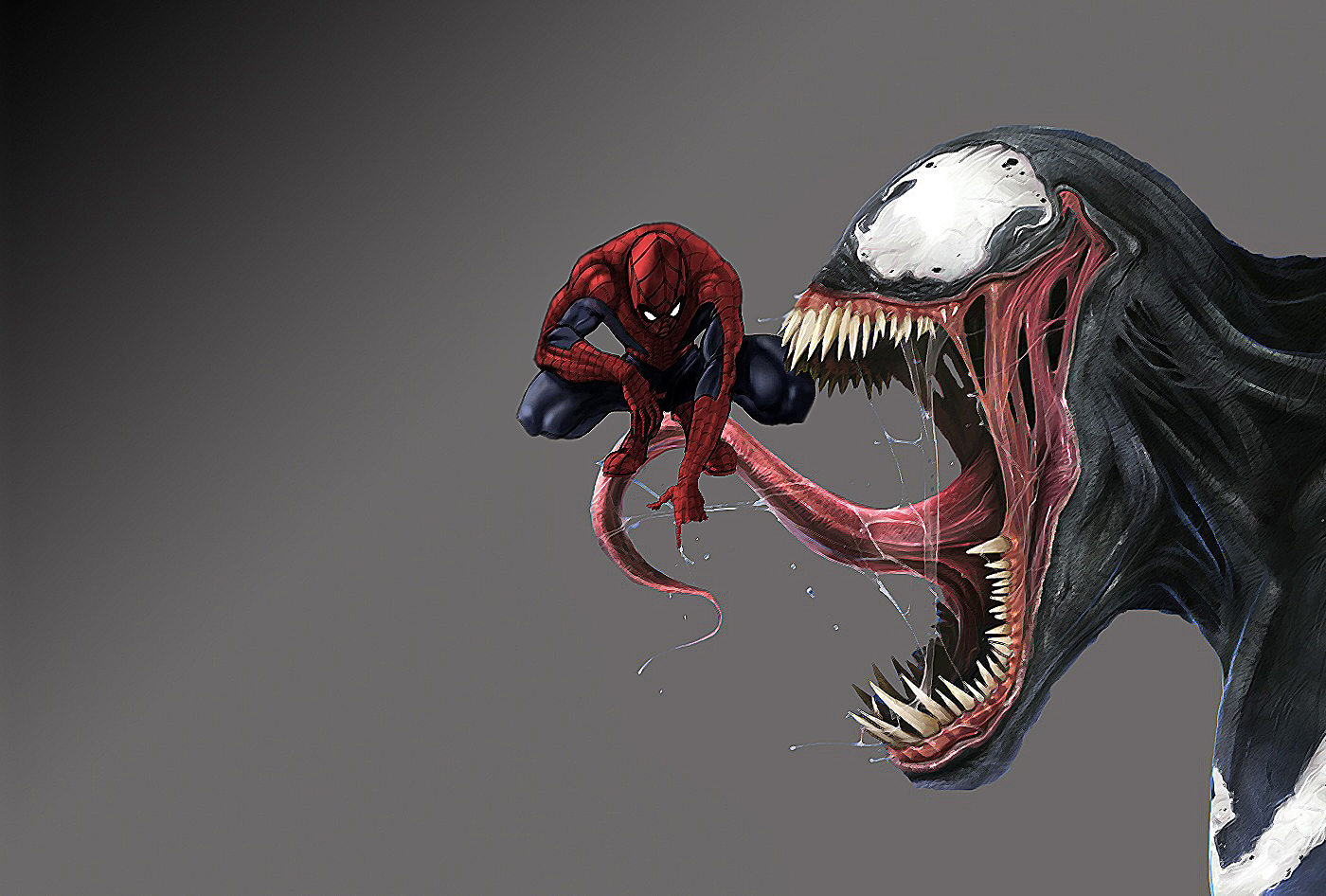 Venom Wallpaper and Background Image | 1400x946 | ID ...