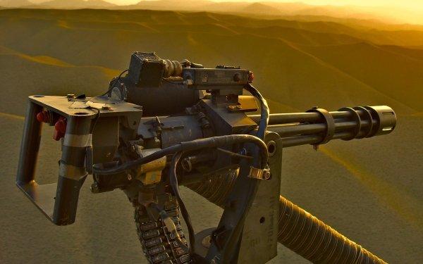 Weapons M134 Minigun HD Wallpaper | Background Image