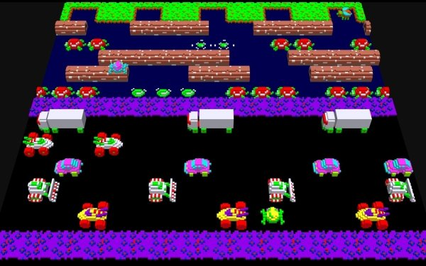 Video Game Frogger HD Wallpaper   Background Image