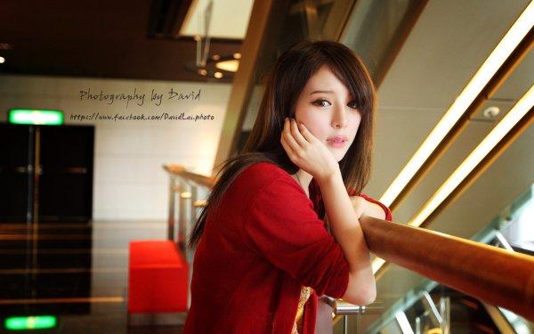 Women Zhang Qi Jun Models Taiwan Julie Chang Model Asian Taiwanese HD Wallpaper | Background Image