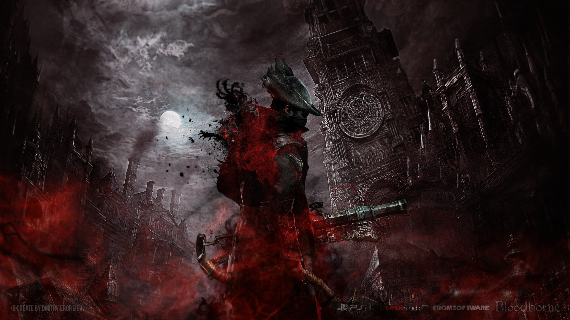 Bloodborne wallpaper big hd wallpaper background image 2560x1440 id 584686 wallpaper abyss - Epic wallpapers 2560x1440 ...
