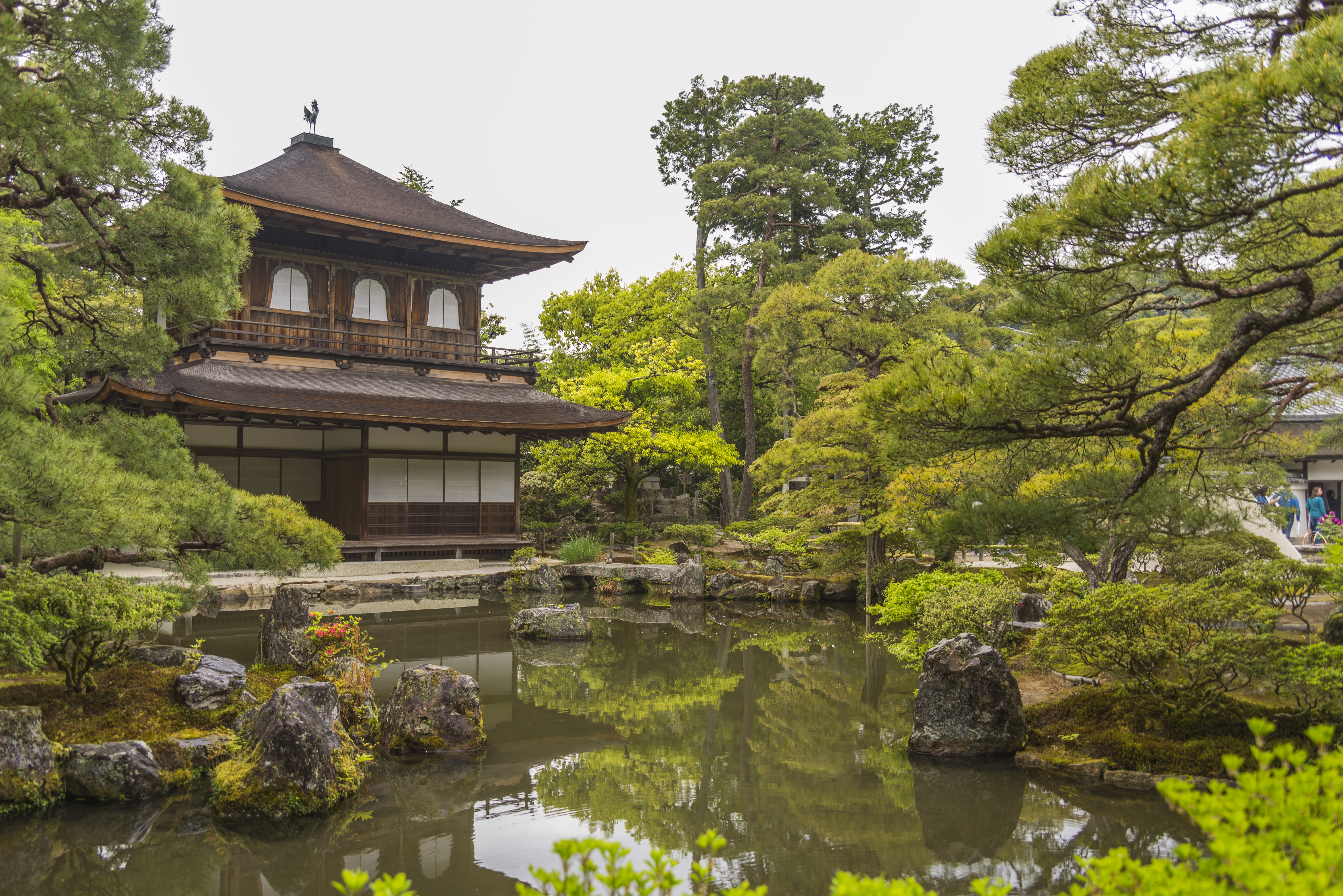 Temple of shining mercy 5k retina ultra hd fond d for Jardin kyoto
