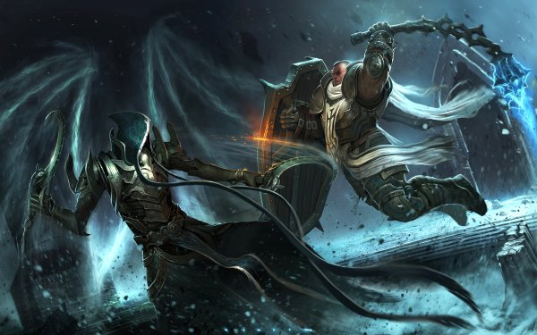 Video Game Diablo III: Reaper Of Souls Diablo Malthael Crusader HD Wallpaper | Background Image
