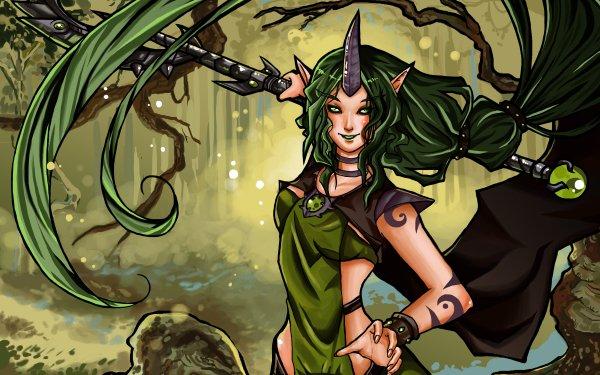 Video Game League Of Legends Soraka HD Wallpaper | Background Image