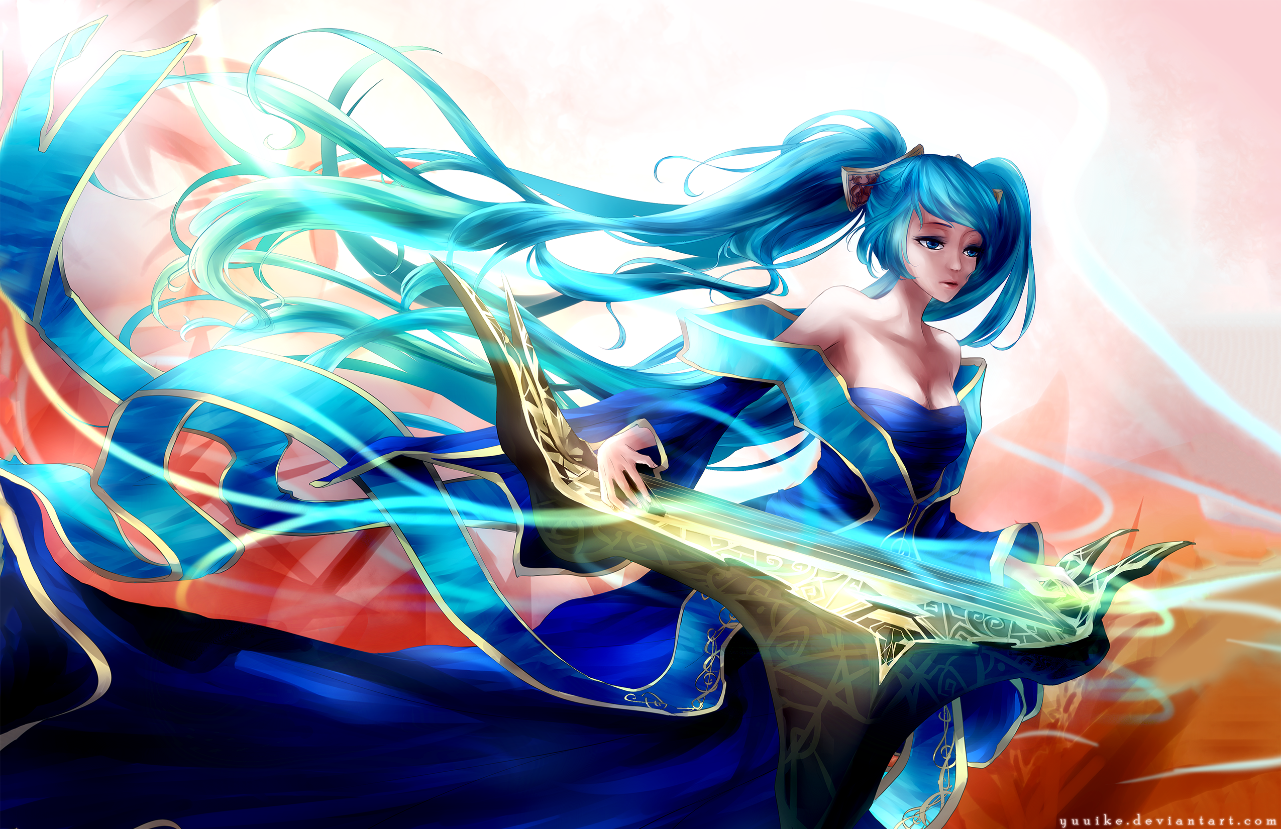 Video Game League Of Legends Sona Wallpaper