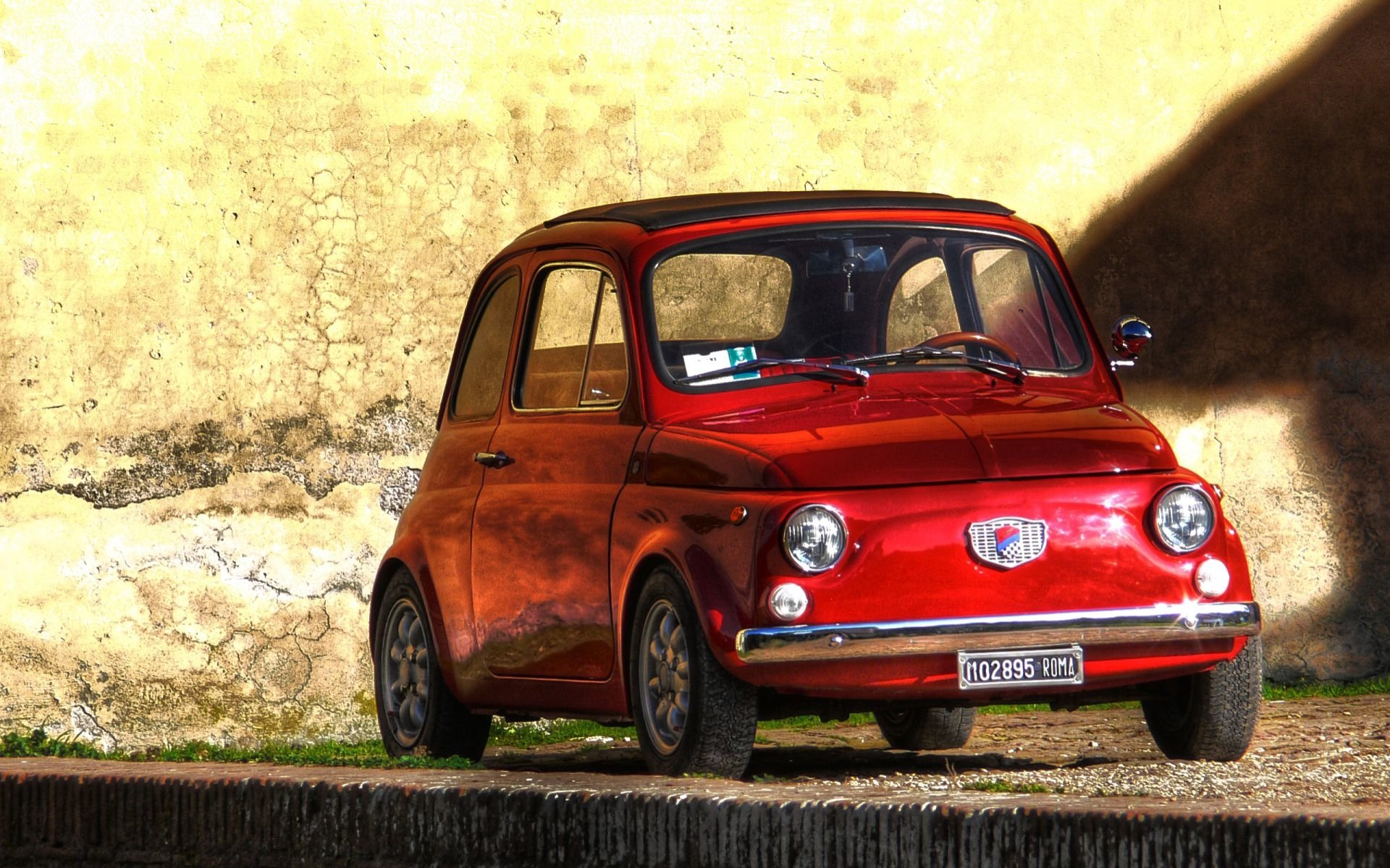 Fiat 500 Hd Wallpaper Background Image 1920x1200 Id 592091