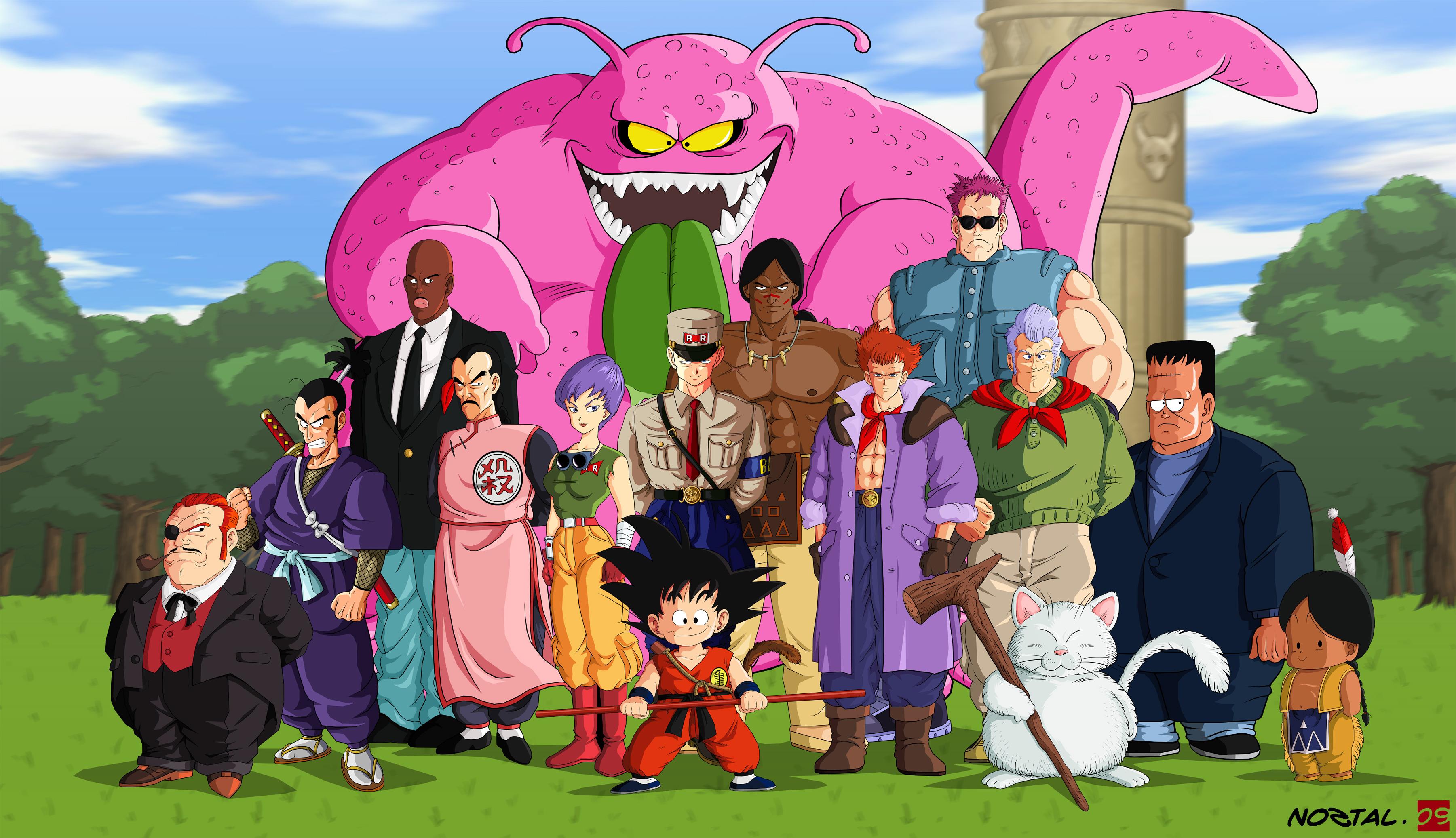 Dragon Ball Z Poster 6 Full HD Fondo De Pantalla And Fondo