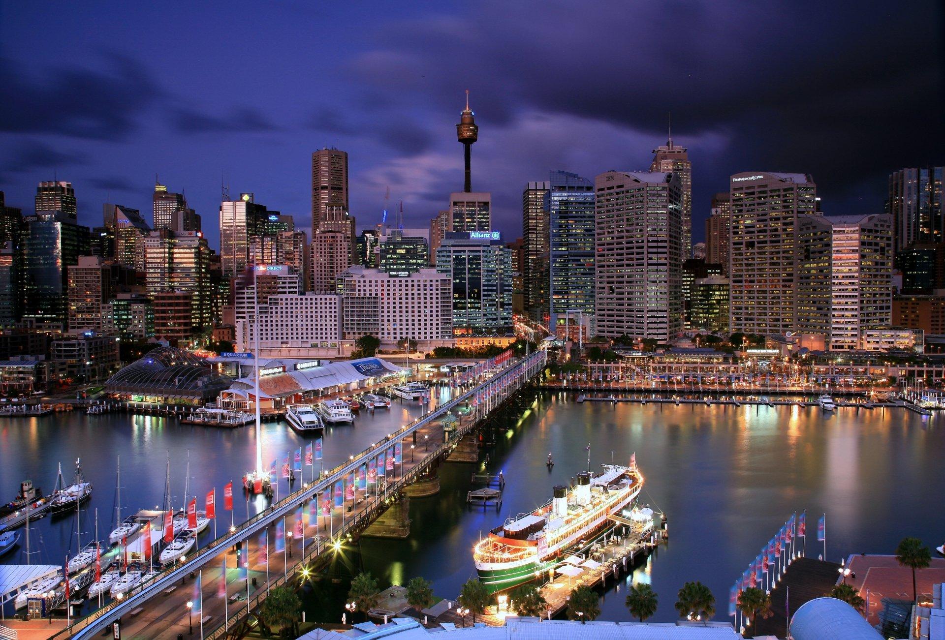 Sydney Australia 4k Ultra HD Wallpaper | Background Image ...