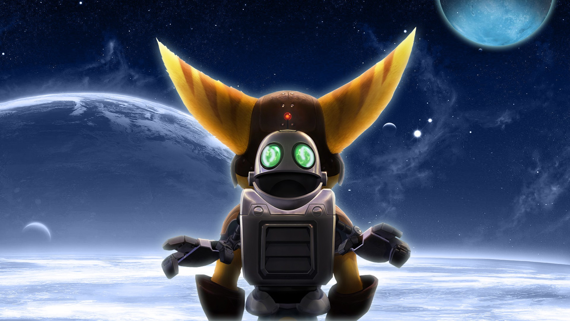 Ratchet & Clank Full HD Wallpaper And Background